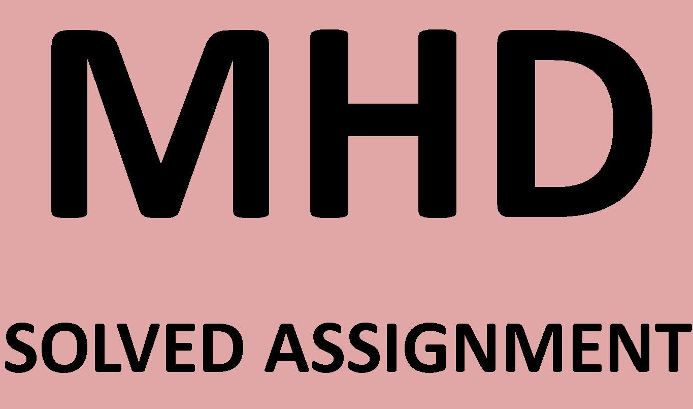 Ignou mba solved assignment 2013